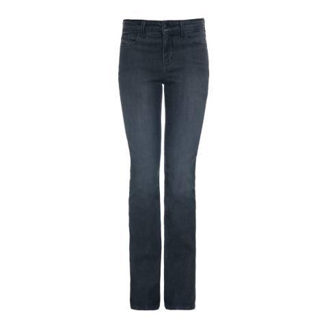 NYDJ Dark Grey Marilyn Straight Jeans