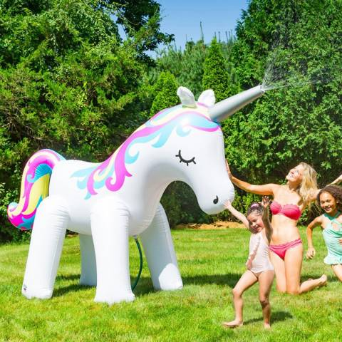 BigMouth Unicorn Garden Sprinkler 6ft