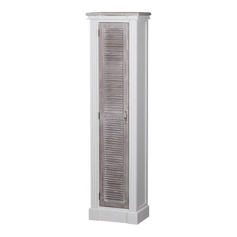 Hill Interiors The Liberty Collection Tall Cabinet With Louvered Doors