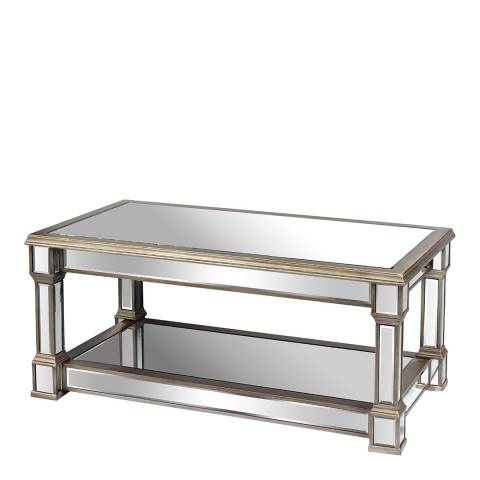 Hill Interiors The Belfry Collection Mirrored Display Coffee Table