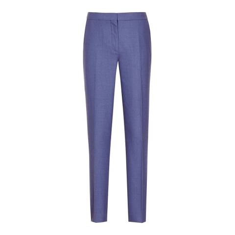 Reiss Blue Verso Tailored Trousers