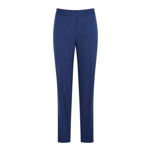 Reiss Bright Blue Malani Tailored Trousers