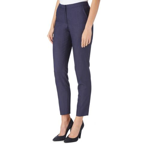 Reiss Navy Onix Tailored Trousers