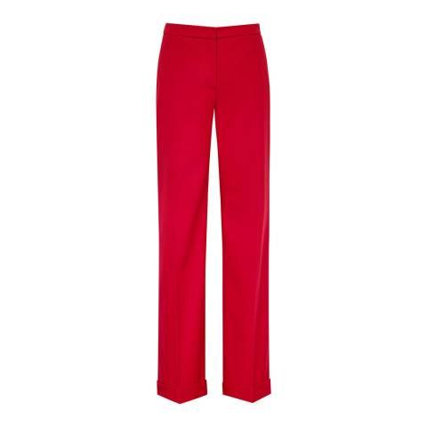 Reiss Red Carla Wide Leg Trousers