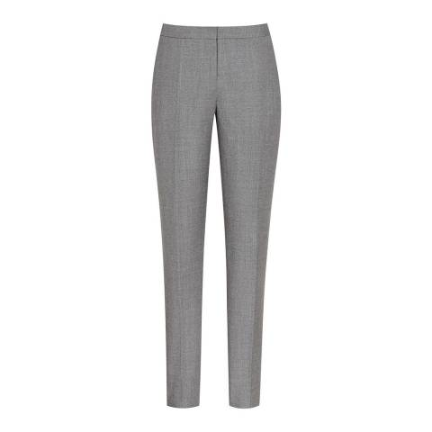 Reiss Grey Austin Tailored Trousers
