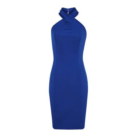 Reiss Blue Zaira Bodycon Dress