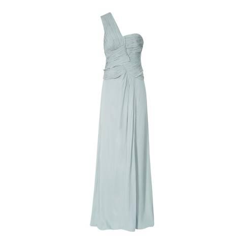 Reiss Light Blue Abigail Maxi Dress