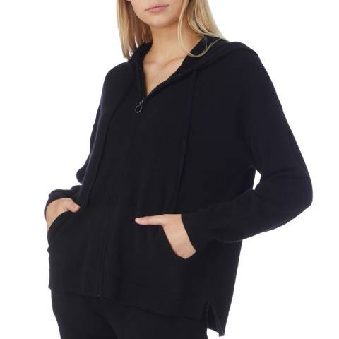 N°· Eleven Black Cashmere Luxe Hoody