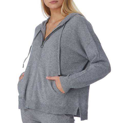 N°· Eleven Grey Cashmere Luxe Hoody