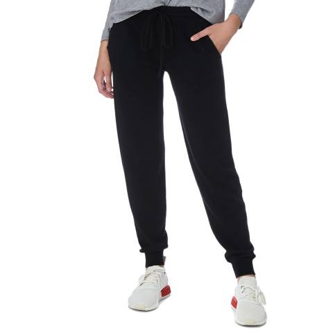 N°· Eleven Black Cashmere Luxe Jogger
