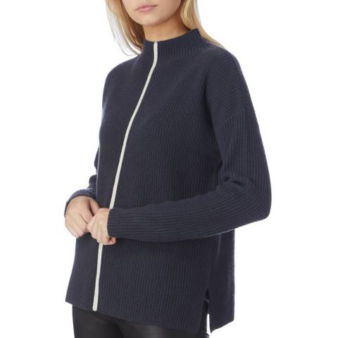 N°· Eleven Irongate Cashmere Blend Contrast Stripe Jumper