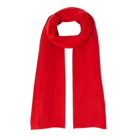 N°· Eleven Red Cashmere Luxe Scarf