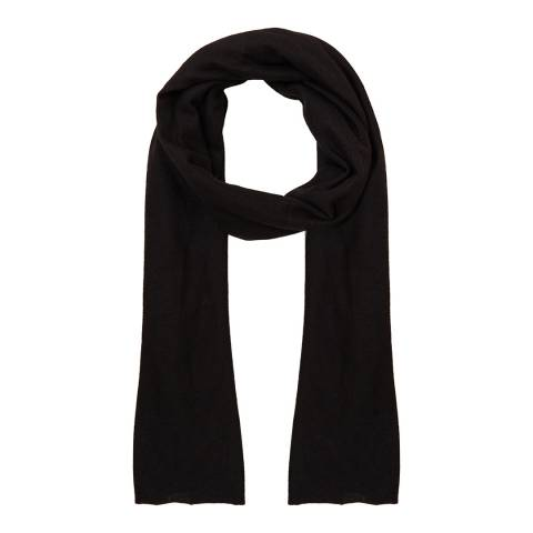N°· Eleven Black Cashmere Luxe Scarf