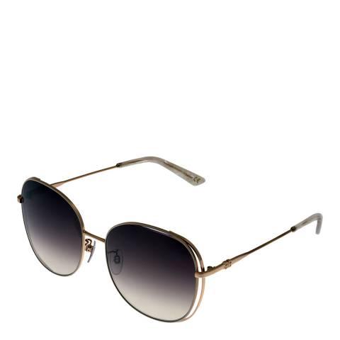 Balenciaga Women's Black/Gold Balenciaga Round Sunglasses 61mm