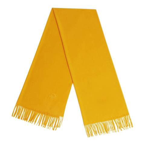 JayLey Collection Spring Yellow Cashmere Silk Blend Scarf