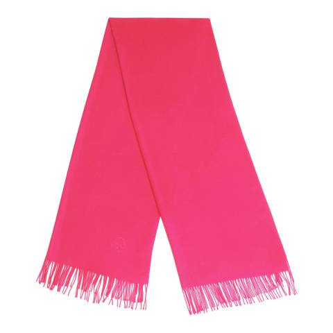 JayLey Collection Hot Pink Cashmere Silk Blend Scarf