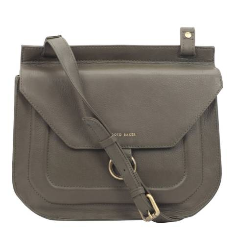 Lloyd Baker Green Leather Cross Body Bag
