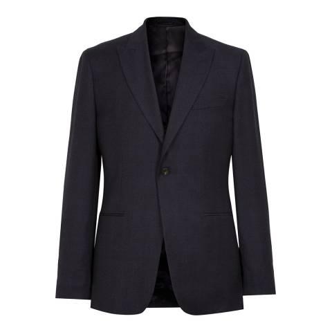 Reiss Navy Mason Modern Suit Jacket