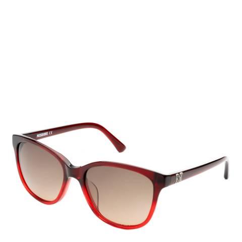 Missoni Women's Red Missoni Sunglasses 55mm
