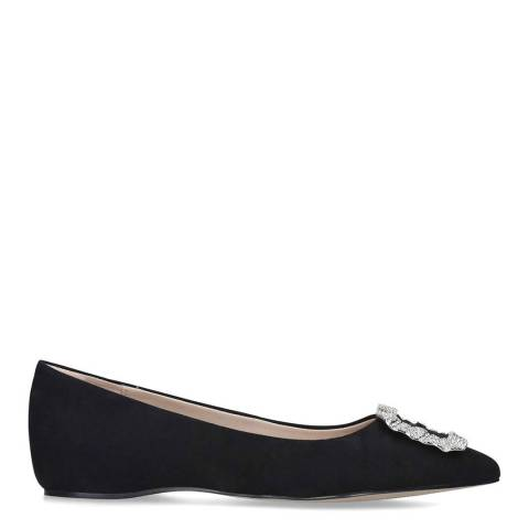 Aldo Black Textile Umireni Flat Shoe