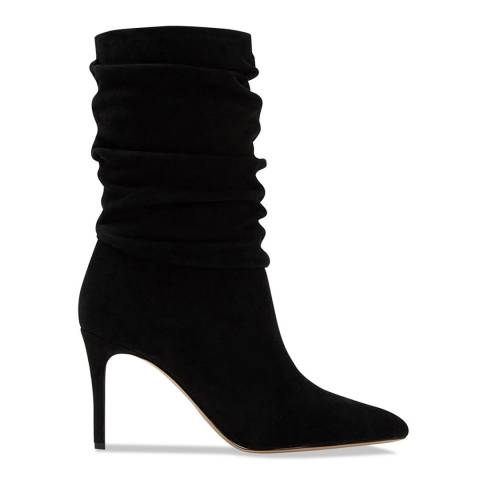 Aldo Black Leather Galaonna Boot