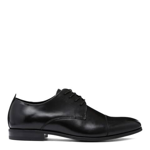 Aldo Black Leather Uneriwien Formal Shoe