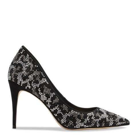 Aldo Black Textile Haodia Shoe Heeled