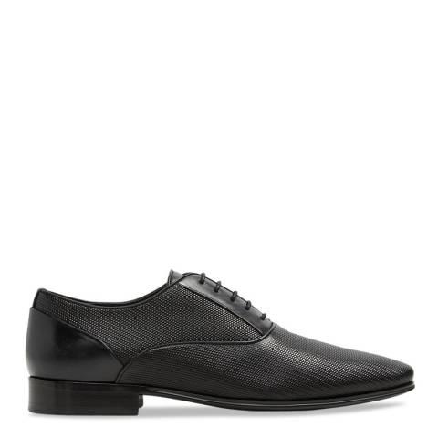 Aldo Black Leather Isiah Formal Shoe