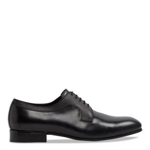 Aldo Black Leather Aloalian Formal Shoes