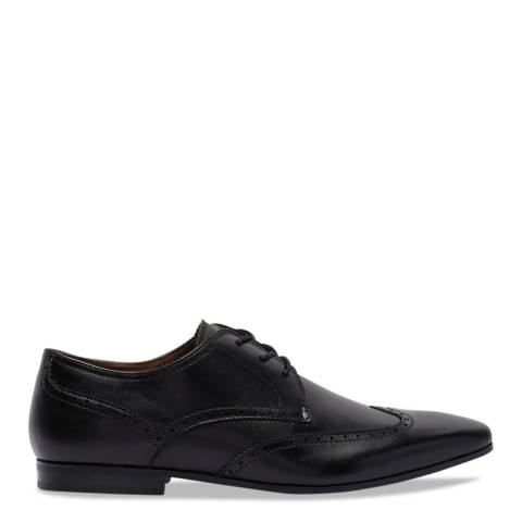 Aldo Black Leather Caspar Formal Shoes