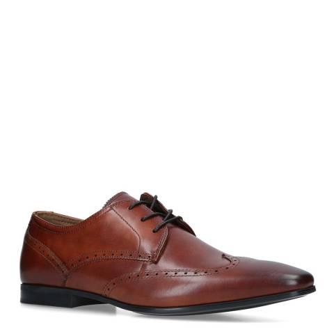 Aldo Cognac Leather Caspar Formal Shoes