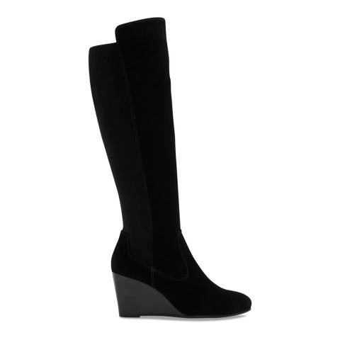 Aldo Black Leather Dalissa Long Boot