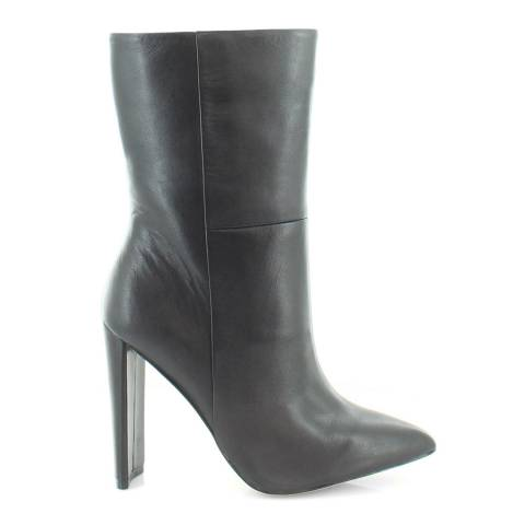 Aldo Black Leather Schuler Long Boot