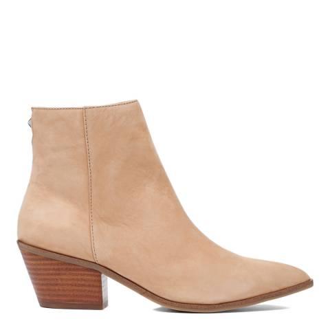 Aldo Brown Leather Dreliwia Ankle Boot