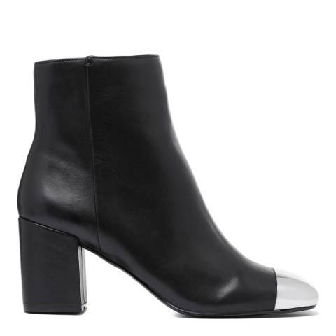 Aldo Black Leather Seiria Ankle Boot