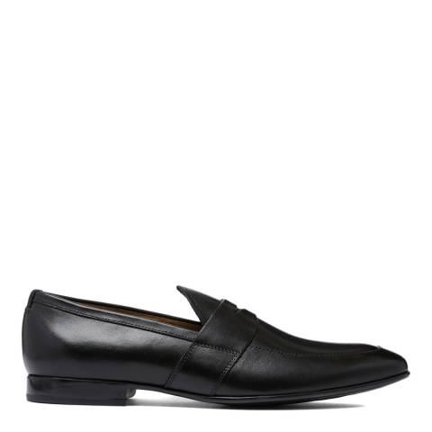 Aldo Black Leather Etianna Loafer