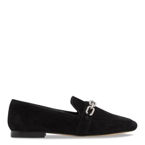 Aldo Black Leather Frelassi Shoe Flat