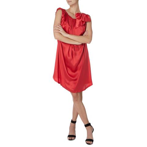 Vivienne Westwood Red Gypsy Bow Dress