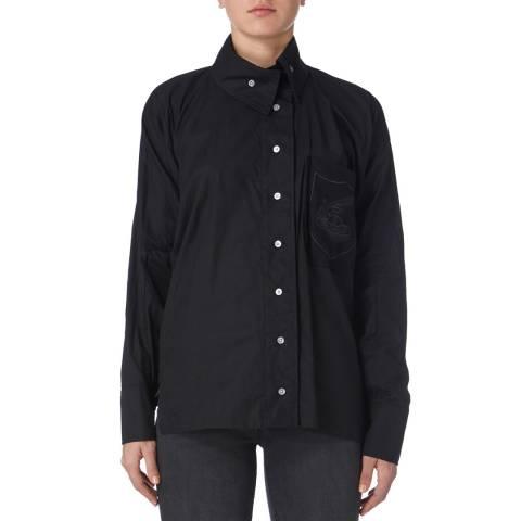Vivienne Westwood Black Squiggle Krall Shirt