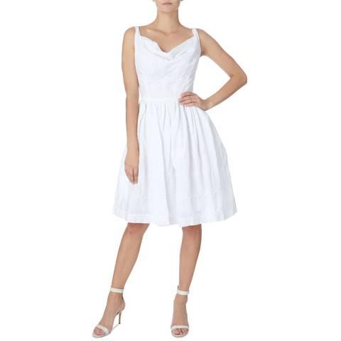 Vivienne Westwood White Twisted Monroe Dress