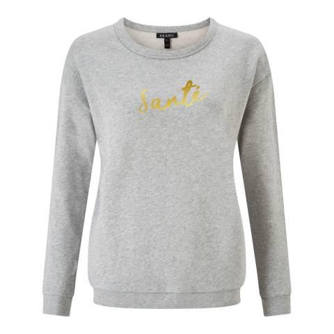 Baukjen Mid Grey Marl Lourdes Sweatshirt
