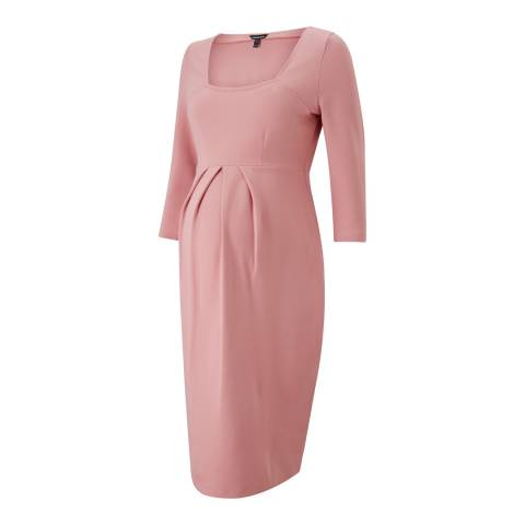 Isabella Oliver Winter Blush Paige Maternity Shift Dress