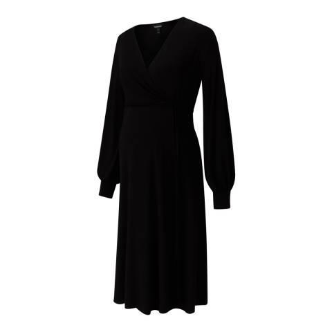 Isabella Oliver Caviar Black Romola Maternity Dress