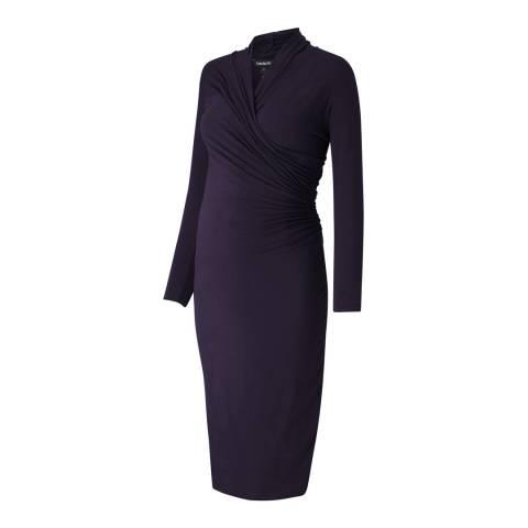 Isabella Oliver Darkest Navy Balcombe Maternity Dress