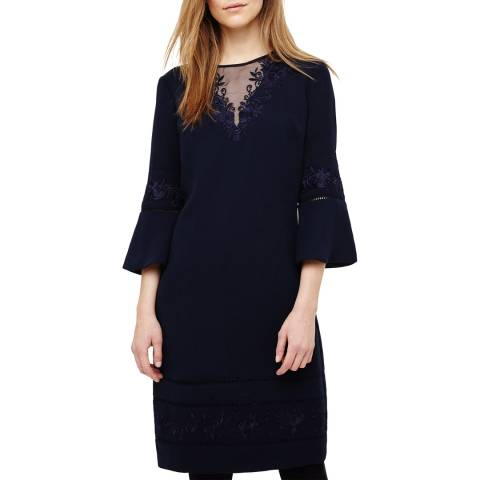 Phase Eight Pandora Embroidered Dress