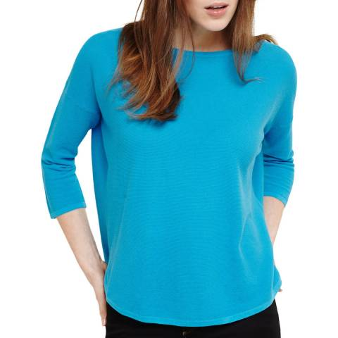 Phase Eight Turquoise Megg Lightweight Jumper