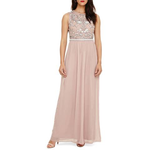 Phase Eight White Zahara Embellished Maxi Dress