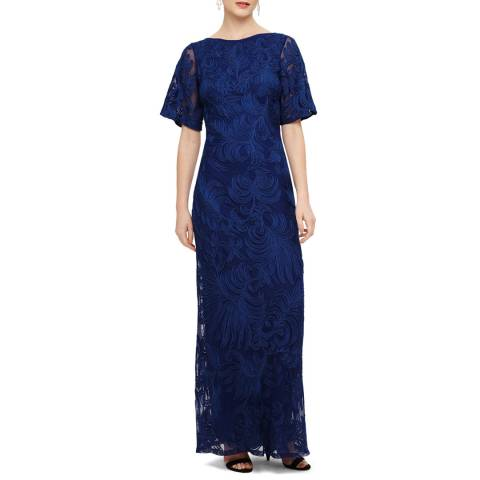 Phase Eight Cecily Tapework Maxi Dress