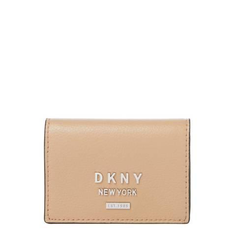DKNY Beige Whitney Accordion Card Holder