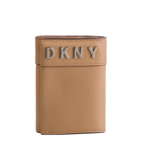 DKNY Beige Bedford Card Case